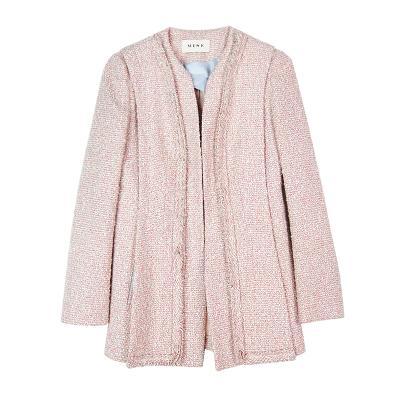 tweed jacket pink